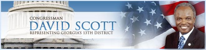 Congressman David Scott, Representing Georgia's 13th District